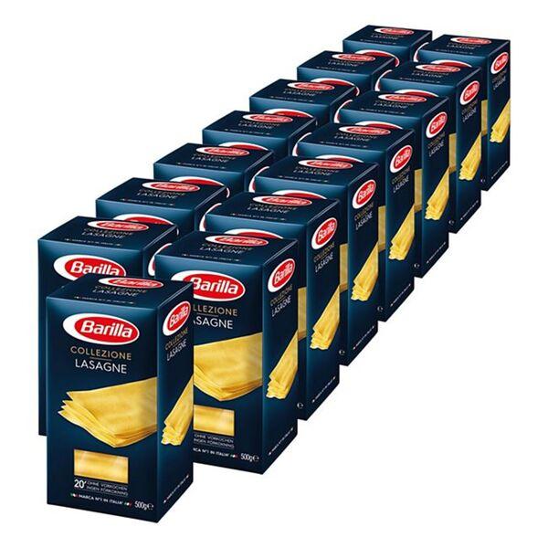 Barilla Collezione Lasagne 500 g, 15er Pack