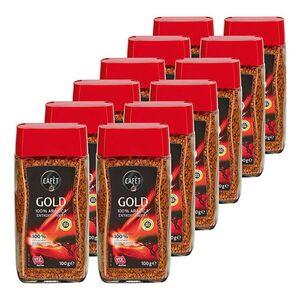 Cafet Kaffee Gold entkoffeiniert 100 g, 12er Pack