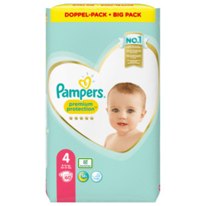 Pampers Premium Protection Gr.4 9-14kg Big Pack 60 Stück