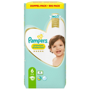 Pampers Windeln Premium Protection Gr.6 13-18kg Big Pack 46 Stück
