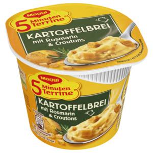 Maggi 5 Minuten Terrine Kartoffelbrei mit Rosmarin und Croutons 42g
