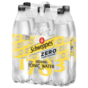 Schweppes Indian Tonic Water Zero 6x1,25l