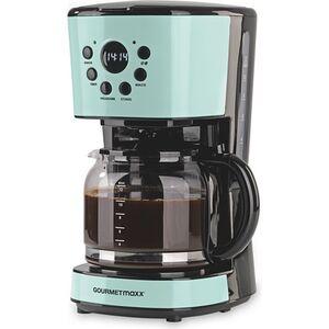 GOURMETmaxx Kaffeemaschine Retro 900W mit Timer - mint