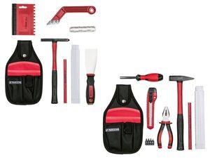 PARKSIDE® Werkzeug-/ Fliesenwerkzeug-Set, 10-teilig/ 7-teilig, mit Gürteltasche