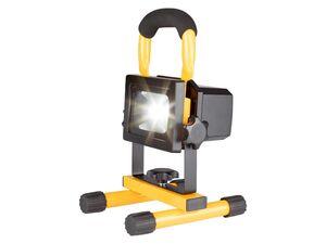PARKSIDE® Akku-LED-Strahler, 10 Watt, inklusive Tragegriff und integrierter Powerbank
