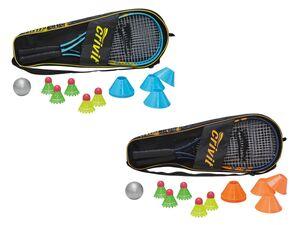 CRIVIT® Rapid-Ball-Set, für 2 Spieler, leichte Aluminium-Schläger, inklusive Tragetasche