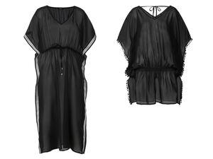 ESMARA® Tunika Damen, in transparenter Qualität, mit Bindeband