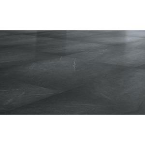 Vinylboden-Fliese 'Lupeca anthracite' 61 x 61 cm