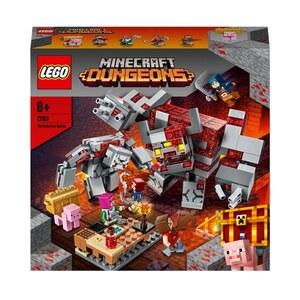 LEGO Minecraft 21163 Dungeons Das Redstone-Kräftemessen