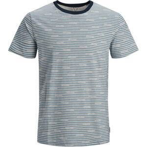 Jack&Jones Originals T-Shirt, Print, geringelt, Rundhals, für Damen