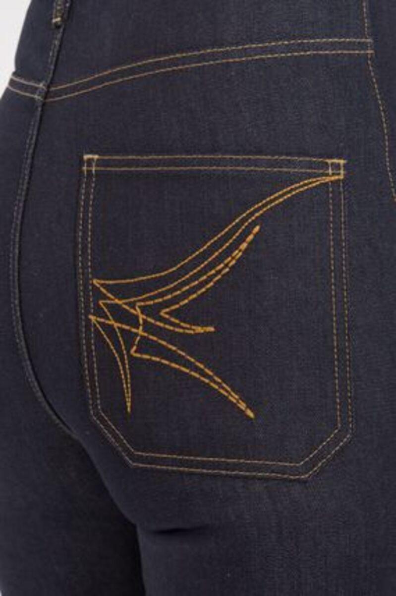 Bild 4 von Queen Kerosin Damen Straight-jeans Original 50s Fit Red Selvedge