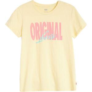 """Levi's® T-Shirt """"The perfect Tee"""", Rundhals, Front-Print, für Damen"""