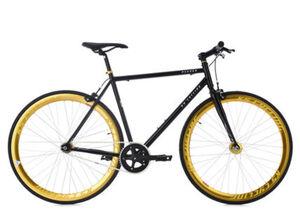 KS Cycling Fixie Fitnessbike 28 Zoll Pegado schwarz
