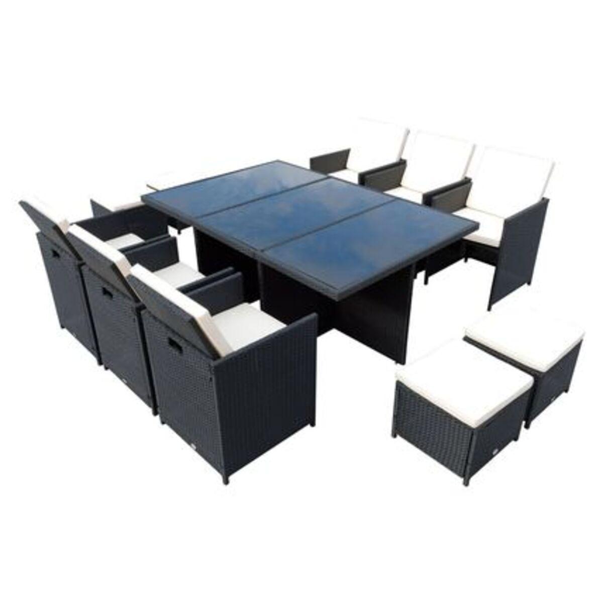 Bild 1 von Outsunny Polyrattan Sitzgruppe als 27-tlg. Set