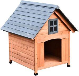 Pawhut Hundehütte im Kabinenstil