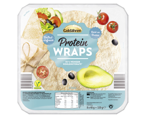 Goldähren Protein-Wraps