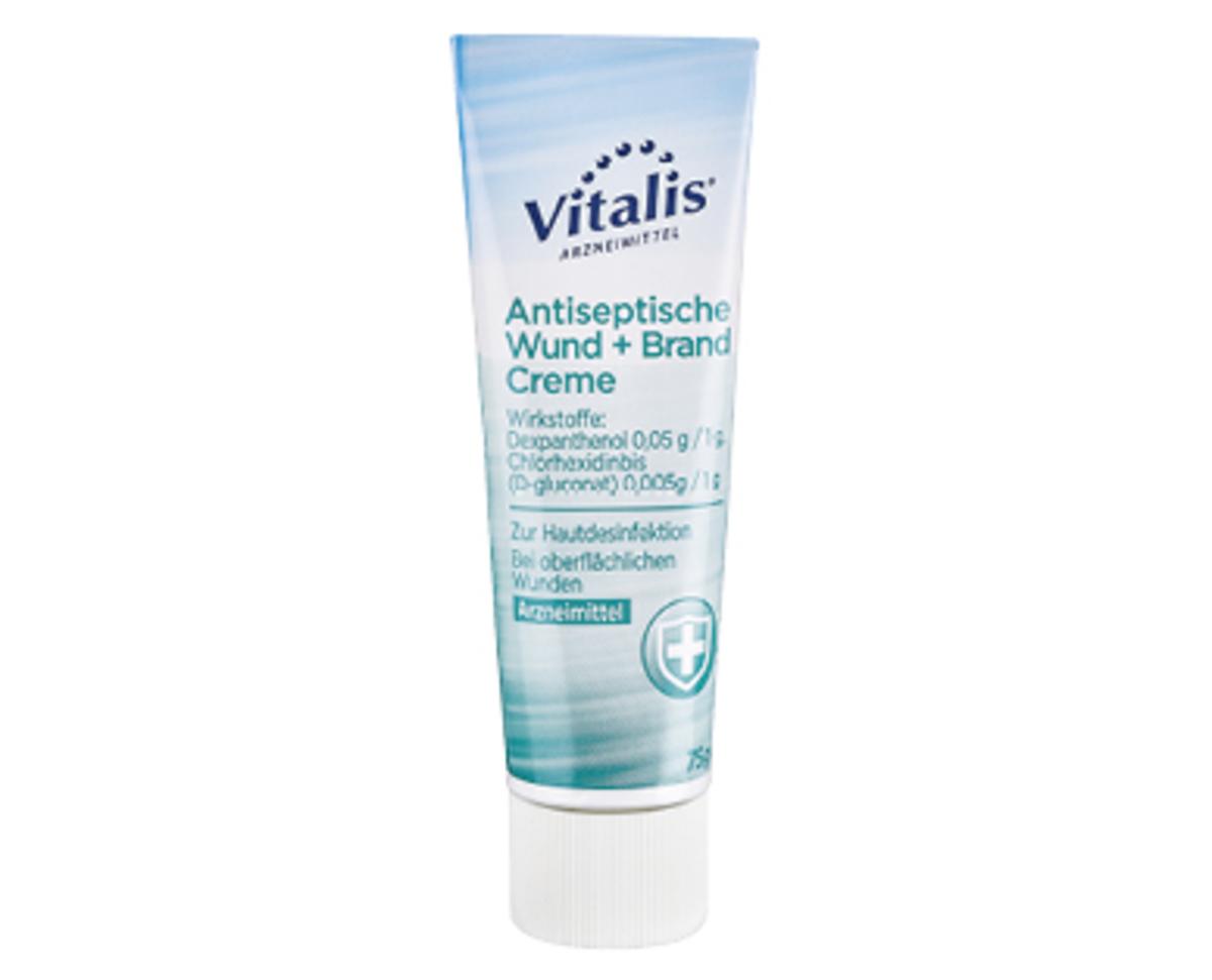 Bild 1 von Vitalis®  Antiseptische Wund + Brand Creme