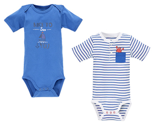 impidimpi Baby-Body, 2er-Set