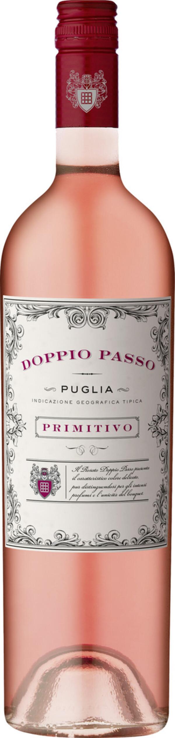 Doppio Passo Primitivo Rosato Puglia IGT 2019 0,75 ltr