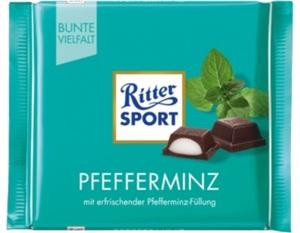 Ritter Sport Pfefferminz 100 g