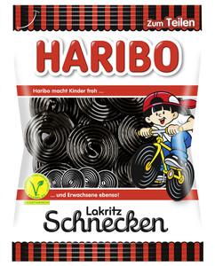 Haribo Lakritz-Schnecken 200 g