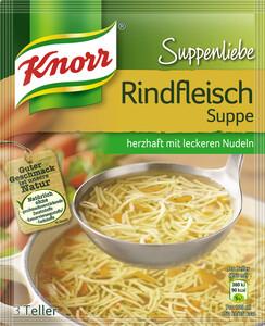 Knorr Suppenliebe Rindfleisch Suppe 76 g
