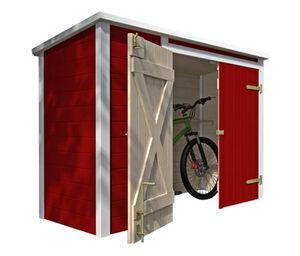 WEKA-Fahrrad-und-Multi-Box, rot-weiß