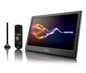 Lenco 10 Zoll tragbarer TV mit DVB-T2, schwarz