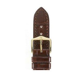Hirsch Uhrenarmband Leder 04207019-1-21