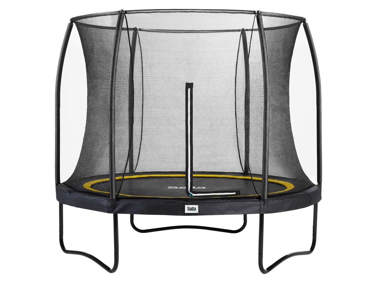 Bild 1 von Salta Trampolin «Comfort Edition», schwarz, 213 cm Durchmesser, 50 kg Belastbarkeit
