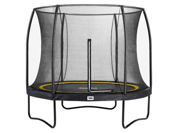 Salta Trampolin «Comfort Edition», schwarz, 213 cm Durchmesser, 50 kg Belastbarkeit