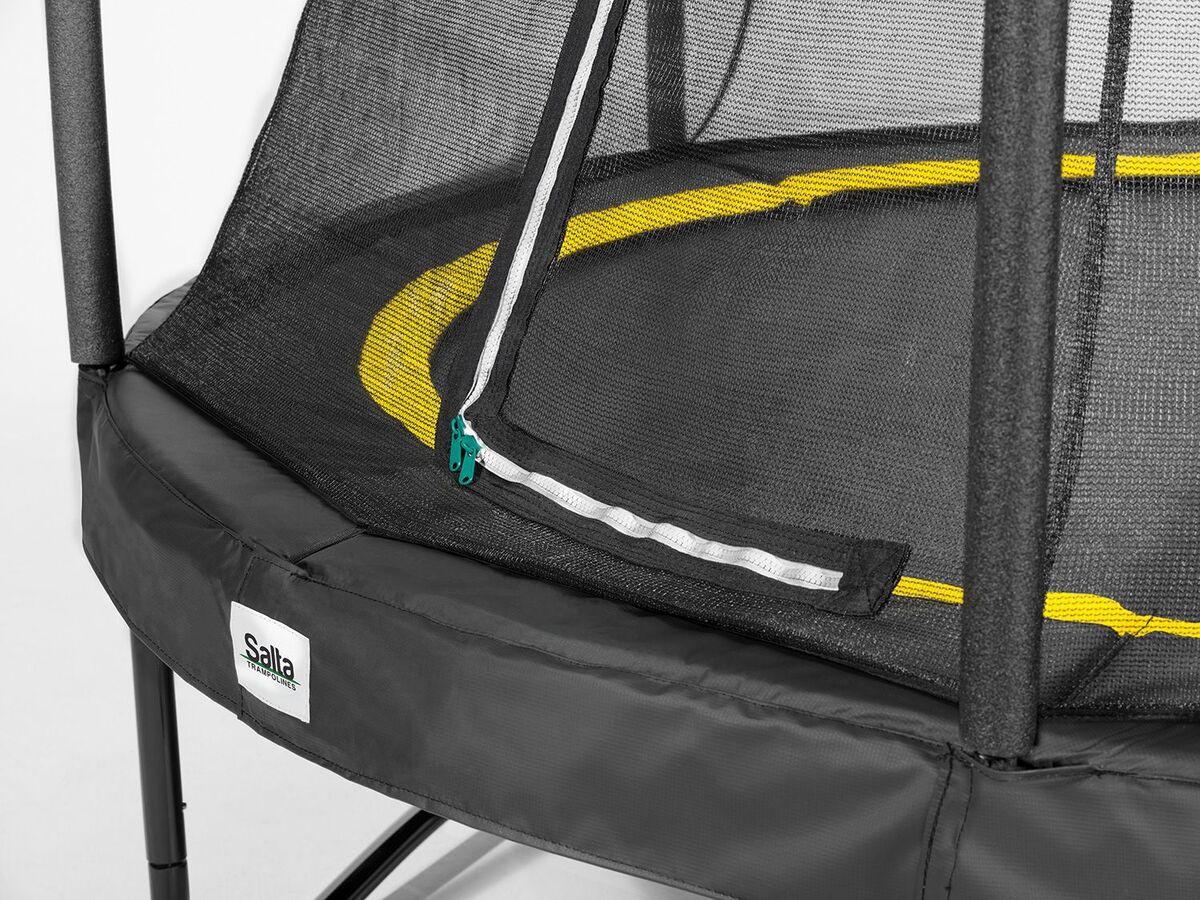Bild 2 von Salta Trampolin «Comfort Edition», schwarz, 213 cm Durchmesser, 50 kg Belastbarkeit