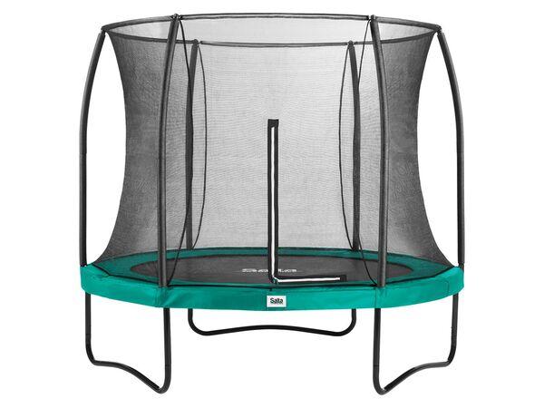 Salta Trampolin «Comfort Edition», grün, 213 cm Durchmesser, 50 kg Belastbarkeit