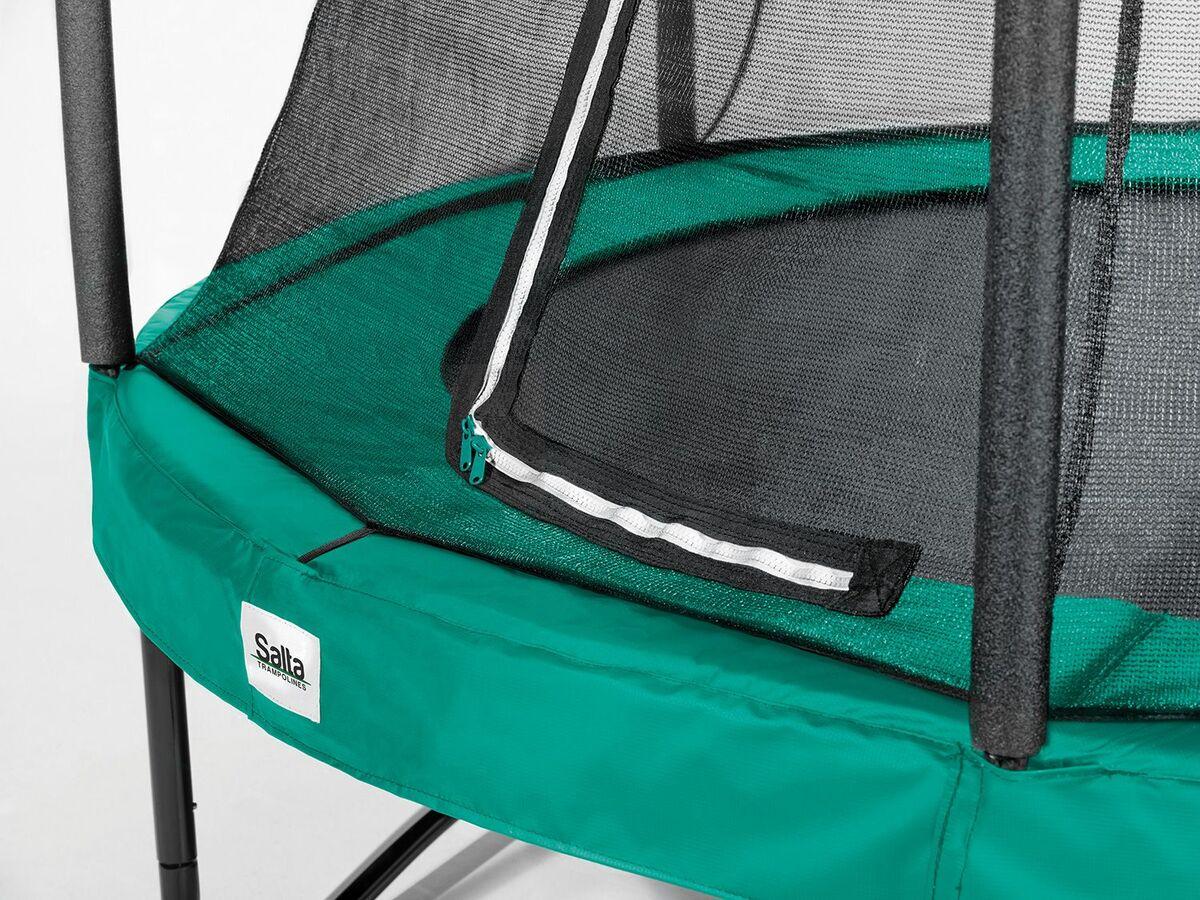 Bild 2 von Salta Trampolin «Comfort Edition», grün, 213 cm Durchmesser, 50 kg Belastbarkeit