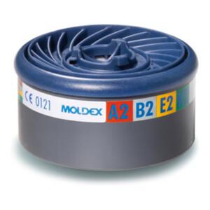 Moldex Gasfilter A2B2E2K2, für Serie 7000 + 9000, EasyLock®, organische Gase, anorganische Gase, Saure Gase und Ammoniak