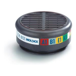 Moldex Gasfilter 8900 ABEK1 max.0,1Vol.% Breite 30xAGW-Wert EN1438:2004+A1:2008