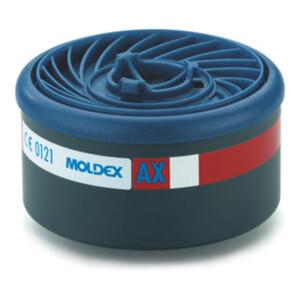 Moldex Gasfilter AX, für Serie 7000 + 9000, EasyLock® organische Gase (Siedepunkt 8 Stk. / VPE