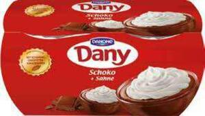 Danone Dany + Sahne