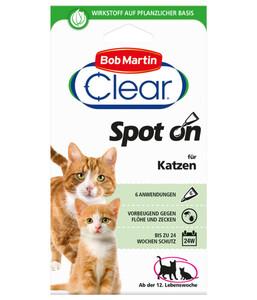Bob Martin Clear Spot on für Katzen, 24 Wochen