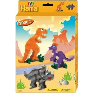 HAMA - Bügelperlen: Geschenkpackung Dino-Welt