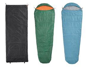 CRIVIT® Schlafsack, mit Kompressions-Packsack und Innentasche, ultraleicht, waschbar