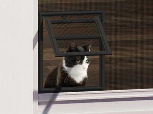 wip Katzenklappe für Insektenschutztür, Einbauelement, einfache Montage