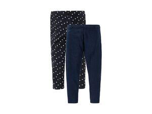 LUPILU®  Kleinkinder Leggings, 2 Stück, mit Baumwolle