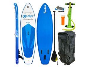Explorer SUP Board »Sunshine«, 305 cm Board-Länge, 3-Finnen, mit Paddel, Pumpe und Rucksack