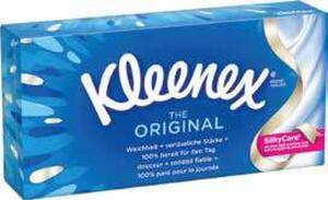 Kleenex Kosmetiktücher Original und Cosmetic