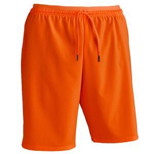 Fußballshorts F500 Erwachsene orange
