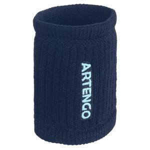 Schweißband TP 500 Tennis Handgelenk marineblau/hellgrün