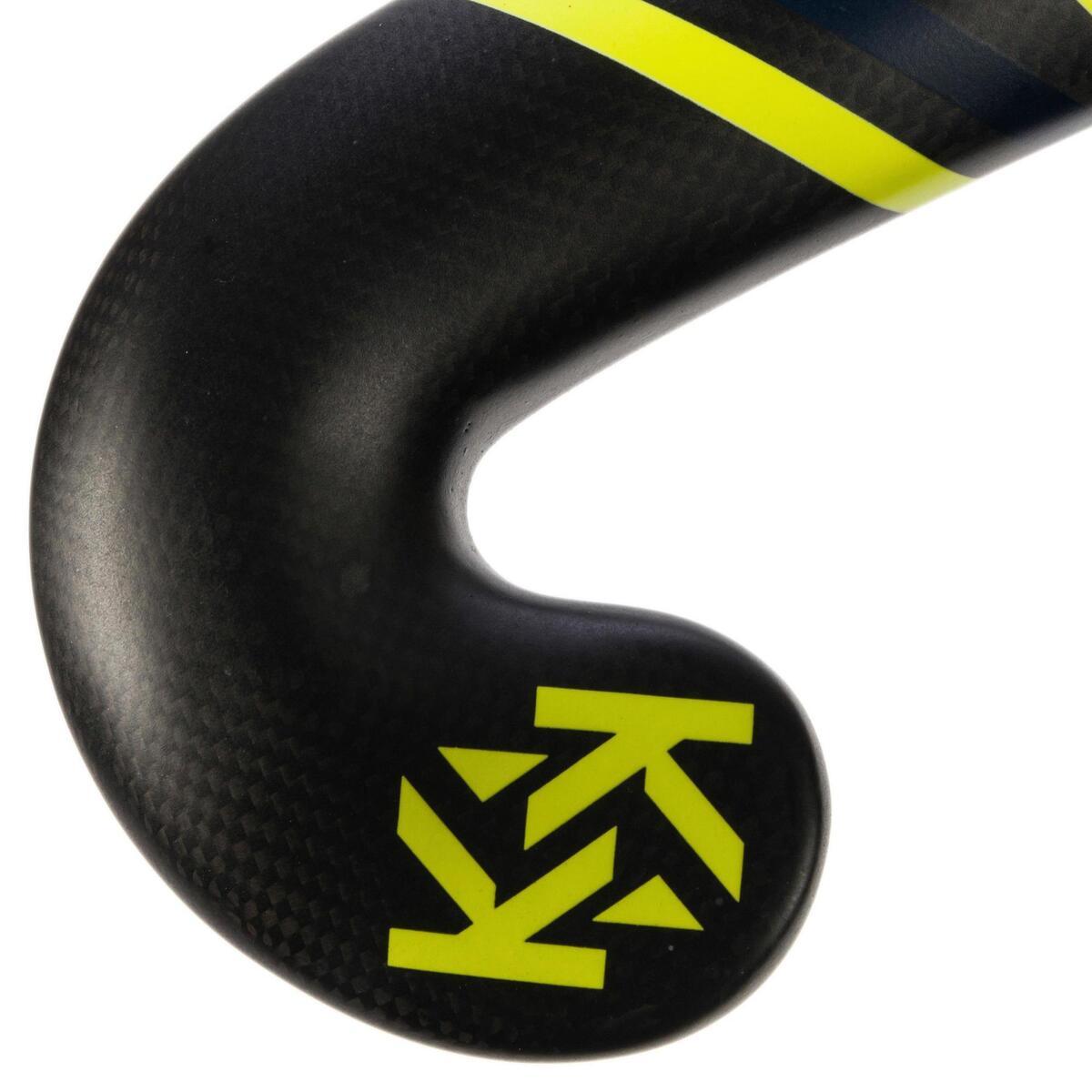 Bild 4 von Feldhockeyschläger FH900 Erwachsene Low Bow 95% Carbon gelb
