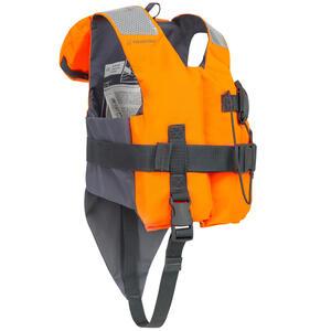 Rettungsweste LJ100N Easy Kinder orange/grau
