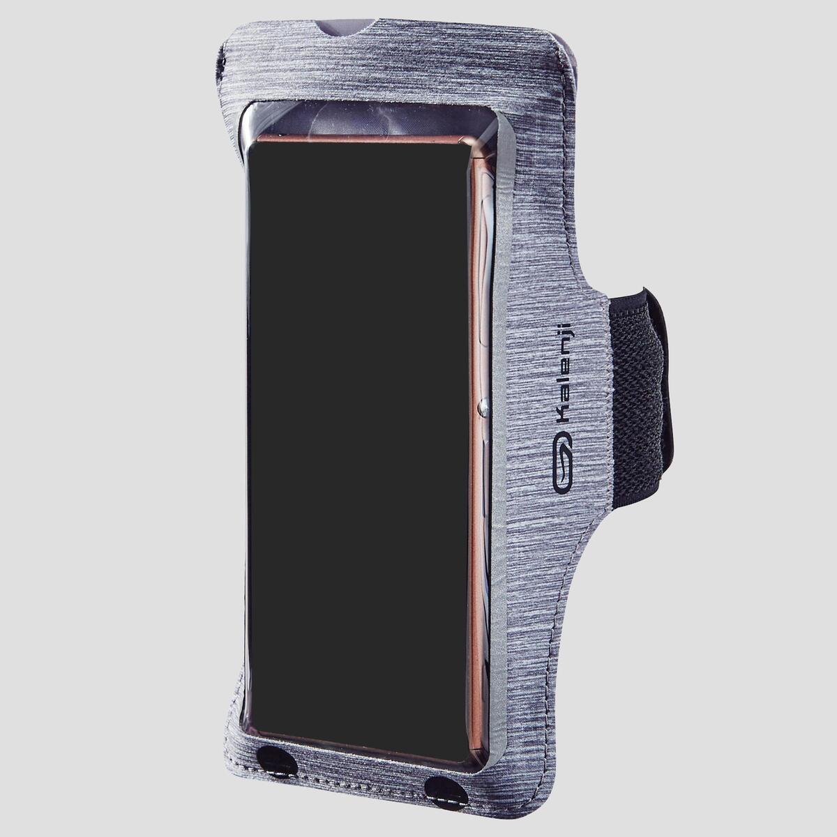 Bild 2 von Laufarmband für große Smartphones grau